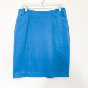 NWT CAbi Pacific Blue Sigourney Skirt